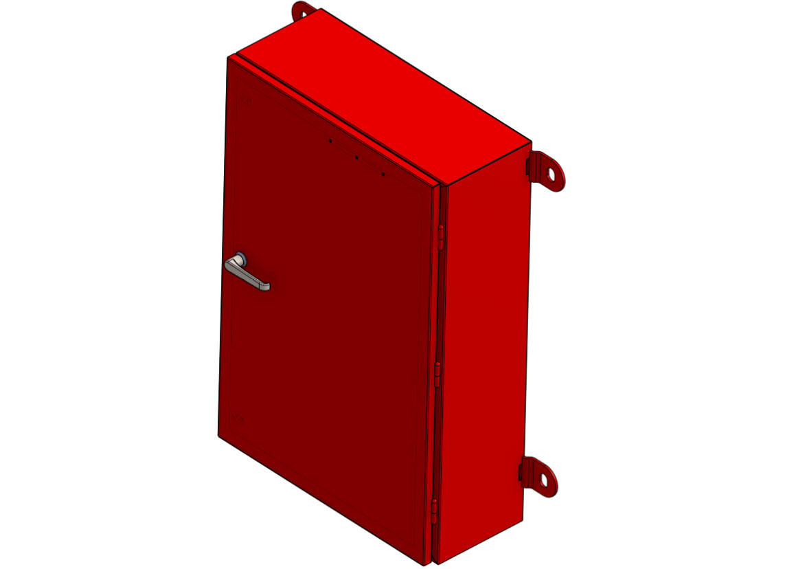 Emergency Cabinet slimline without window