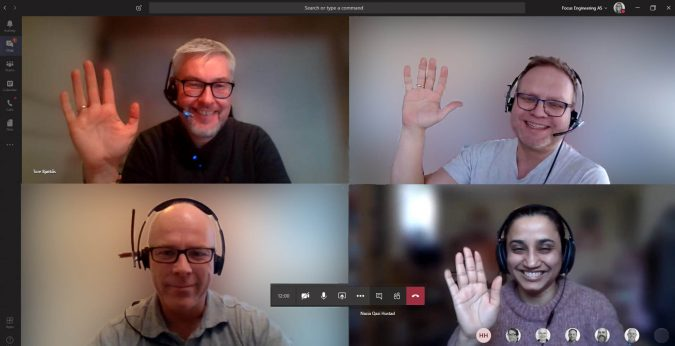 Microsoft Teams med Focus Group